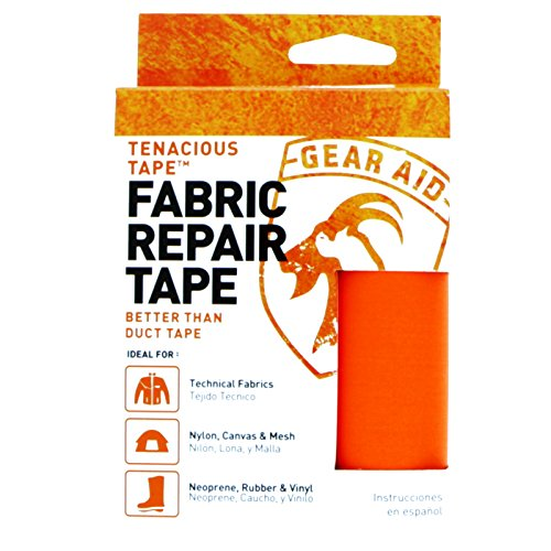 Gear Aid Tenacious Tape Iron-On Neoprene Patch 2-Pack