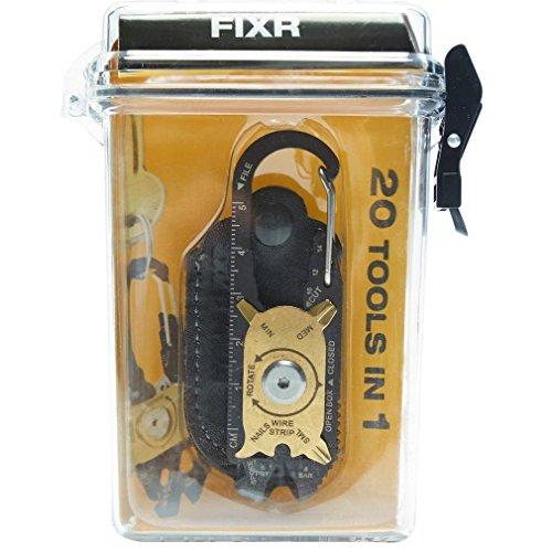 Orange SPHTOEO EDC Alloy Fire starter Waterproof Magnesium flint stone CNC gear pocket outdoor