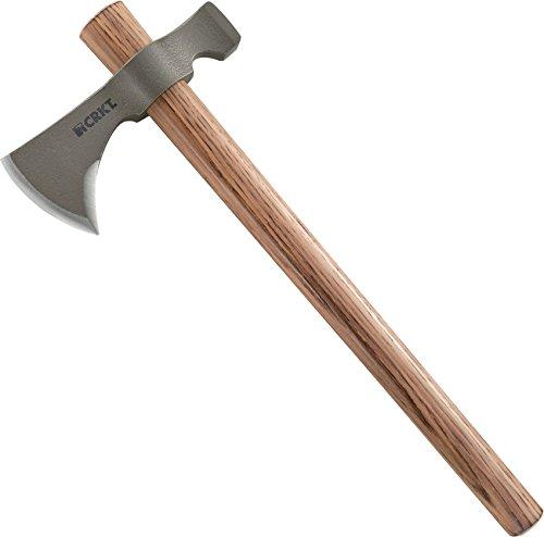 CRKT Woods Chogan Tomahawk Sheath: Full Grained Leather New Multiple Snaps ..