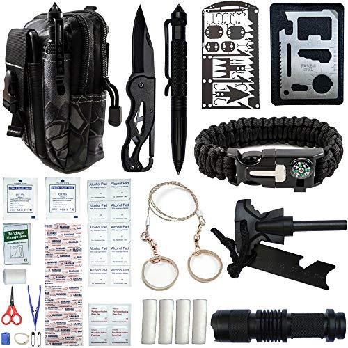 65 PCS Outdoor Gear, Gadgets, Tools, & Accessories for