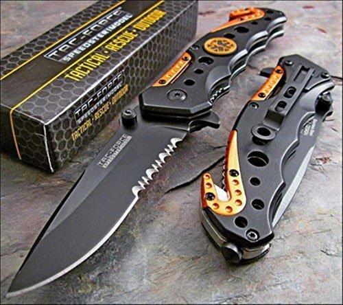 Pocket Knife Sharpener, AYAMAYA EDC Gear Keychain Knife