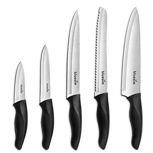 "3 Montana Knifeworks 6""Boning Knives Curved//Stiff Black Fibrox Handle Brand New"