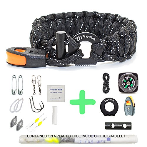 Spool Tool Paracord Organizer with Holder Parachute Cord Winder Equipment Kit LC