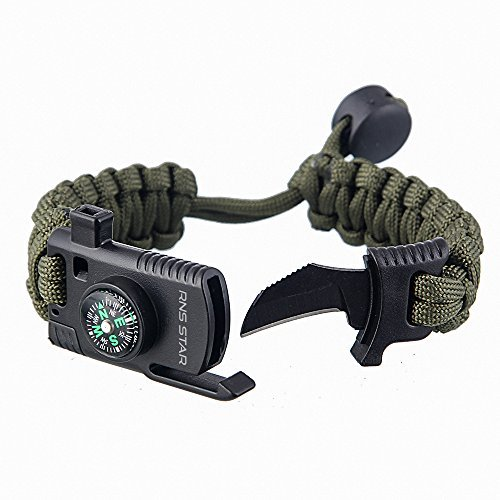 Paracord Planet Emergency Whistle Zipper Pull Stay Safe Outdoor with This Whistle at Your Fingertips 100 10 Available in Packs of 5 50 25