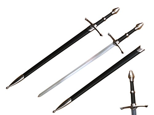"""Twin Sword Set 27/"""" Overall 11.75/"""" Stainless Double Edge Blades"""