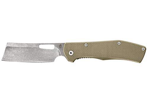 Gerber Quadrant Straight Edge Flipper Knife With Pocket