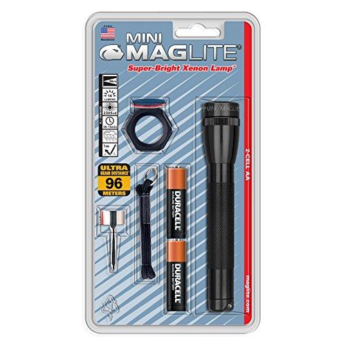 Tactical Mag-Lite EDC Flashlight WOODLAND Two AA Mini Mag-Lite Hiking Camping