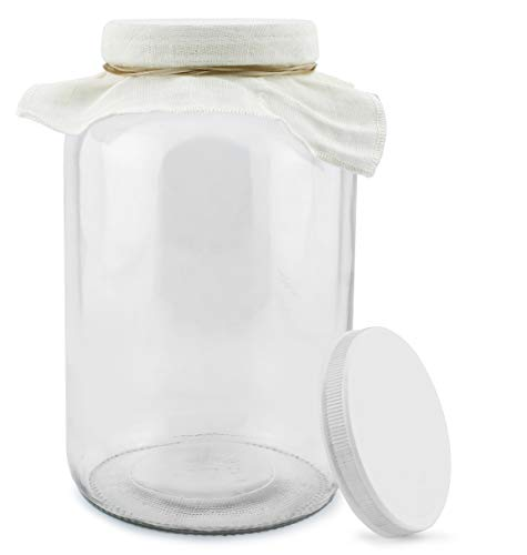 """2-10.5 oz Container Jar Candle~Scented~3-Wicks~U Choose Scent~4/""""D x 3-1//4 /""""T"""
